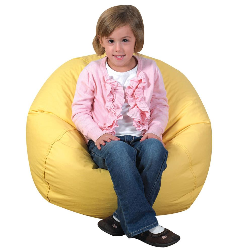 Wondrous Childrens Factory 26 Inch Foam Filled Bean Bag Squirreltailoven Fun Painted Chair Ideas Images Squirreltailovenorg