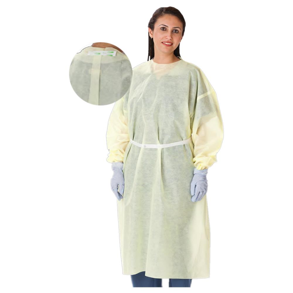 Cardinal Health Multi-Ply Yellow Isolation Gowns | Protective Apparels