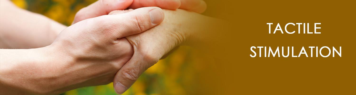 Tactile Stimulation: Therapy for Stroke, Alzheimer's, and Dementia Patients