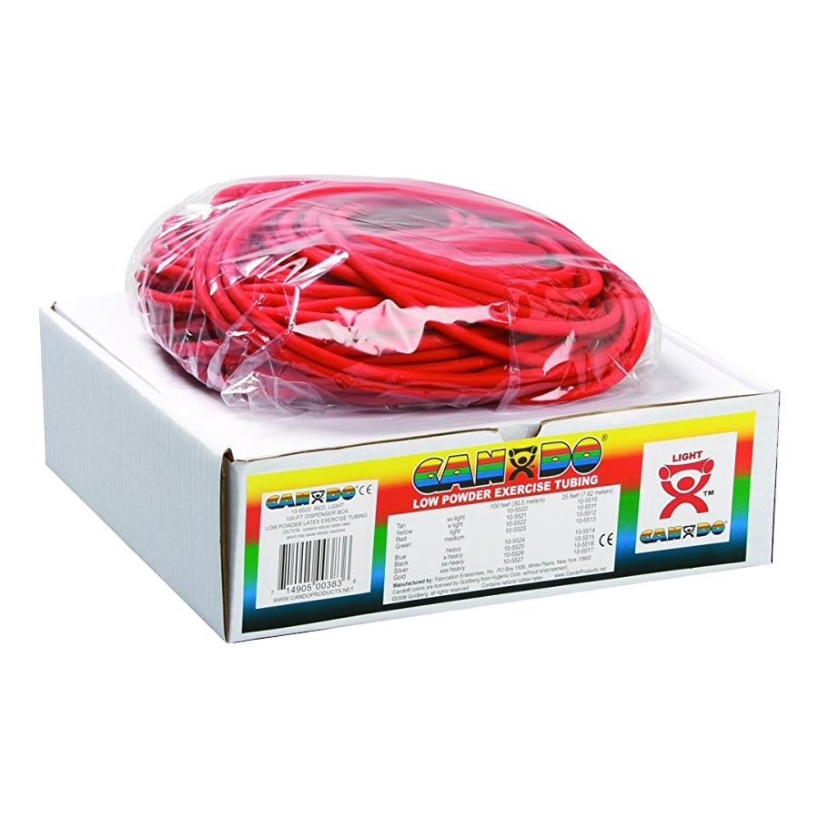 Buy Cando 100 Feet Low Powder Exercise Tubing Roll