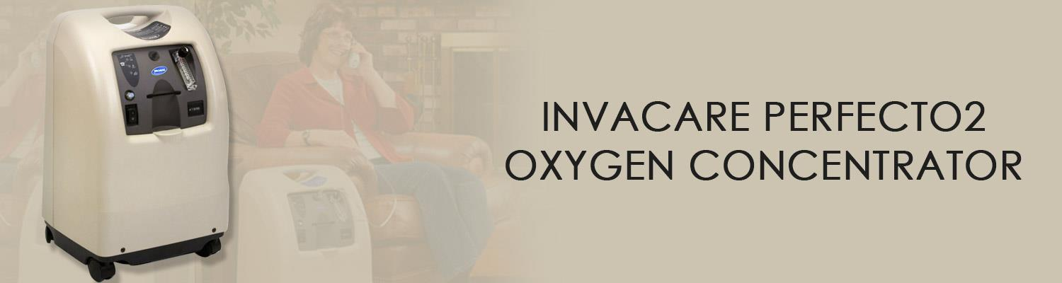 Using the Invacare Perfecto2 Oxygen Concentrator