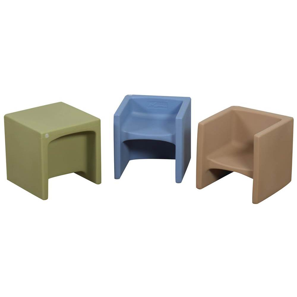 Bon Childrens Factory Woodland Cube Chairs