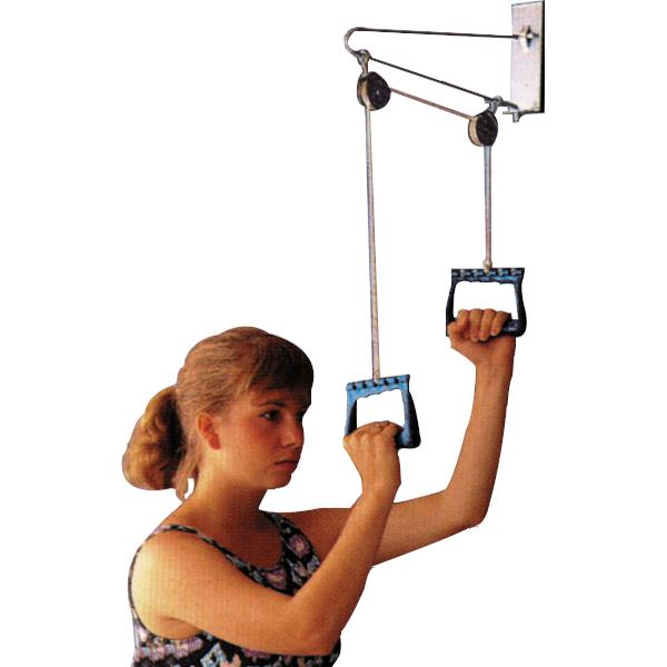 Essential Medical Overdoor Exercise Pulley Set
