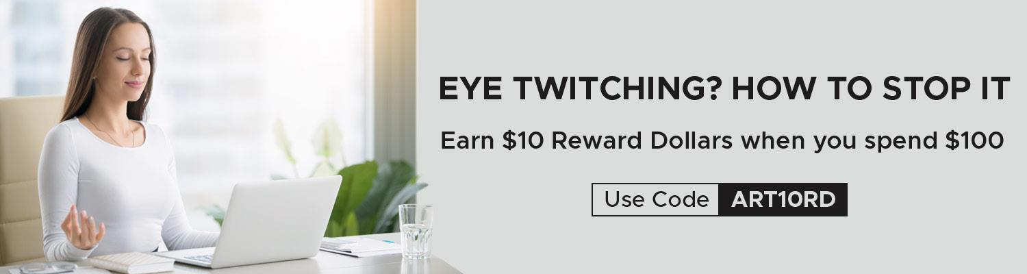 Eye Twitching? How to Stop It