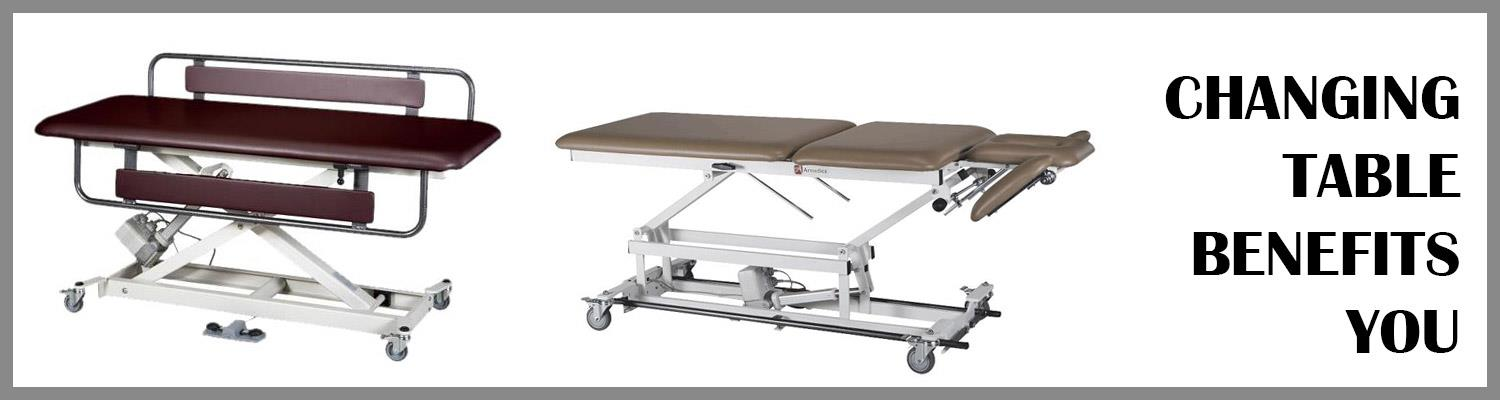 How the Armedica AM-SX 1060 Hi-Lo Changing Table Benefits You?