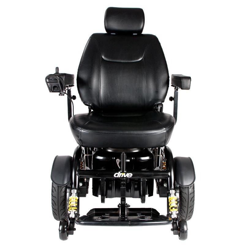Drive Trident HD HeavyDuty Power ChairTravelPortable Power Chairs