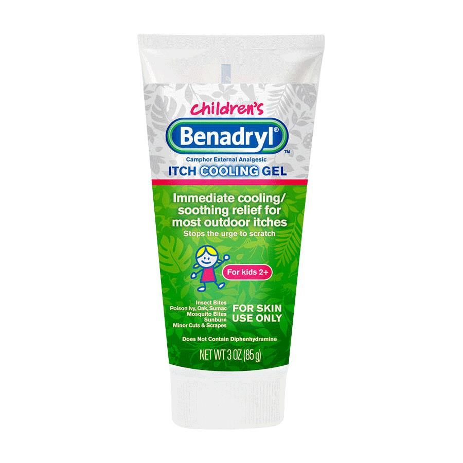 Benadryl Original Strength Kidz Anti Itch Gel