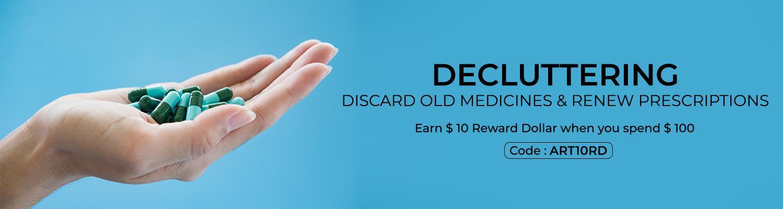Decluttering: Discard Old Medicines & Renew Prescriptions