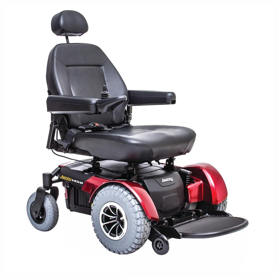 Pride Jazzy 1450 Heavy Duty Power Chair