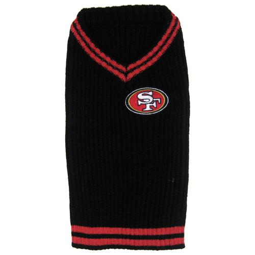 new product 10fb4 6de94 Pets First San Francisco 49ers Dog Sweater