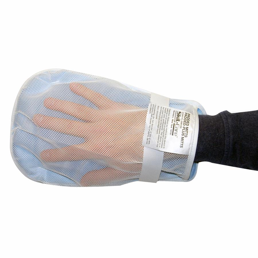 Skil Care Lightweight Padded Mitts Hand Mitt Restraints