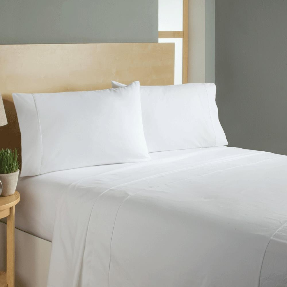 Simple sheets sleep soft bed sheets set bedsheets for Minimalist bed sheets