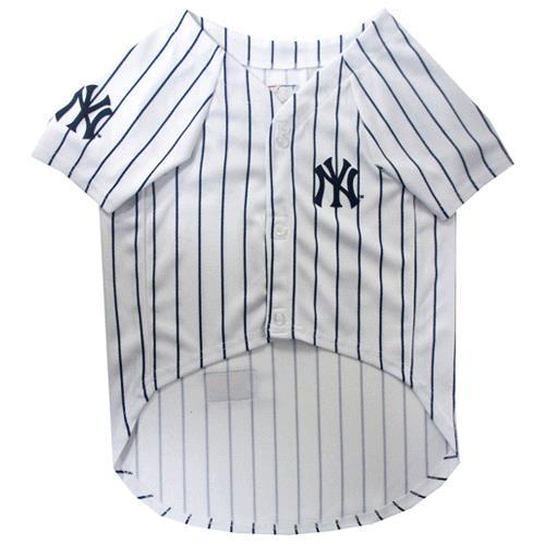 new concept 2eb25 285b8 Pets First New York Yankees Baseball Dog Jersey