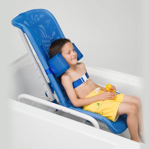 Columbia Contour Supreme Reclining Pvc Bath Chair Shower
