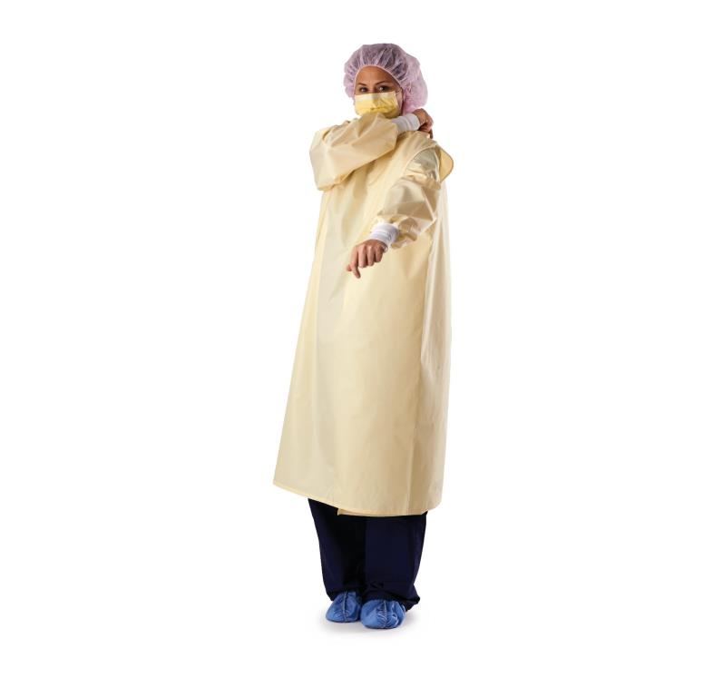 Medline Wrap-Around Reusable Isolation Gown | Protective Apparels