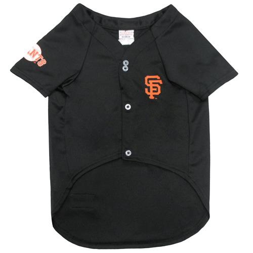 finest selection 8943b 8af26 Pets First San Francisco Giants Baseball Dog Jersey