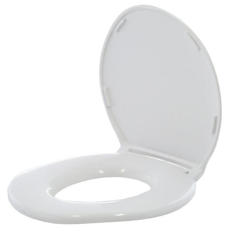 Big John Regular Closed Front Toilet Seat With Cover | Commode Aids