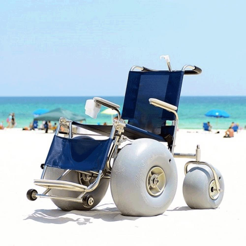 Fabulous Beach De Bug Stainless Steel All Terrain Wheelchair Lamtechconsult Wood Chair Design Ideas Lamtechconsultcom