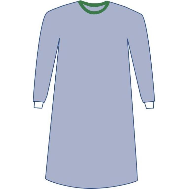 Medline Sterile Non-Reinforced Eclipse Surgical Gowns | Isolation Gowns