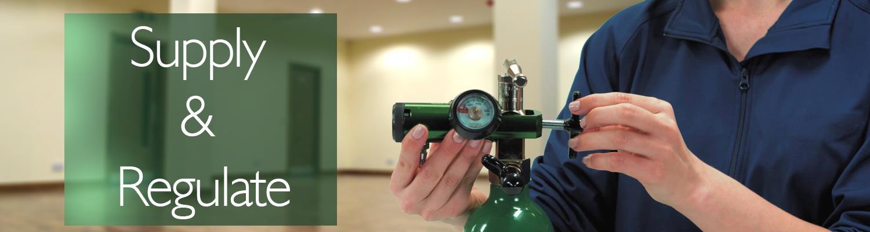 Regulate and Supply – Oxygen Regulators