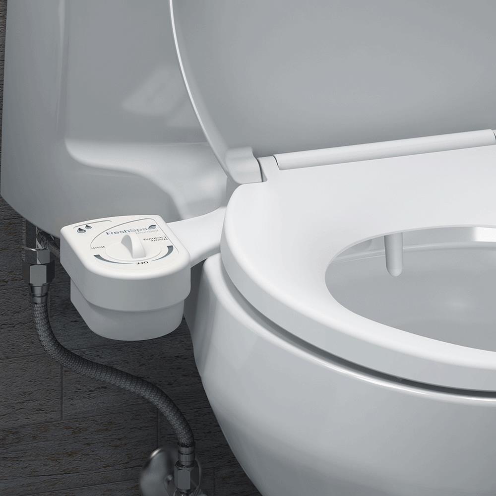 Brondell FreshSpa Easy Bidet Toilet Attachment | Commode Aids