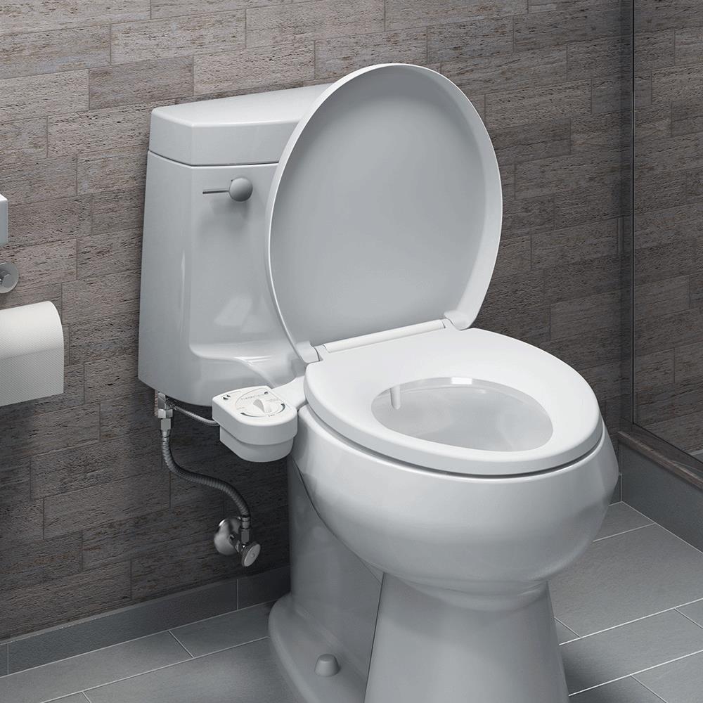 brondell freshspa easy bidet toilet attachment bidet toilet system. Black Bedroom Furniture Sets. Home Design Ideas