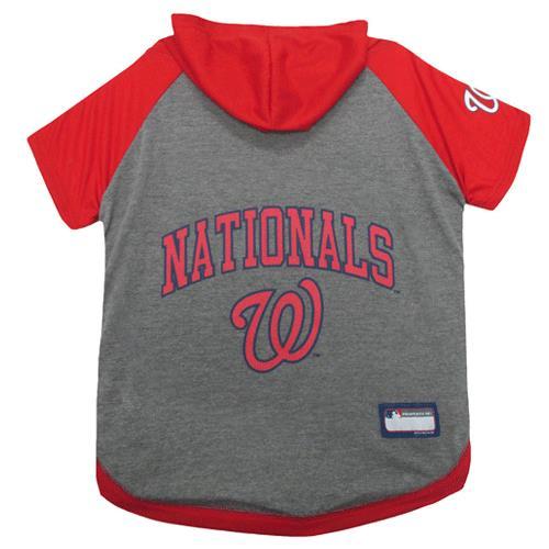 timeless design 3db54 120cb Pets First Washington Nationals Hoodie Dog Tee Shirt