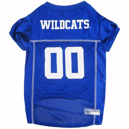 wholesale dealer 4858a 3a26b Pets First University of Kentucky Wildcats Mesh Football Dog Jersey