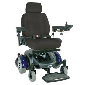 Drive Image EC Mid Wheel Drive Standard Power Wheelchair
