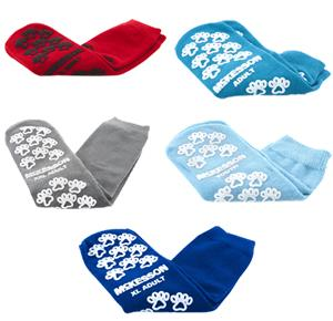 McKesson Terries Double Imprint Above Ankle Slipper Socks