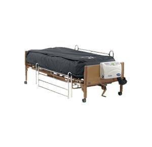 invacare microair lateral rotation alternating pressure and low air loss mattress