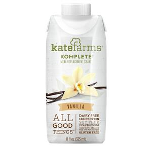 Kate Farms Komplete Meal Replacement Vanilla Shake