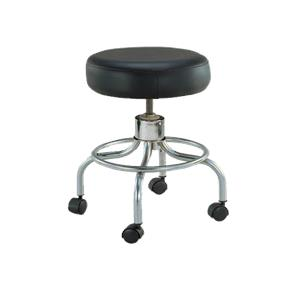 Peachy Medline Stainless Steel Revolving Exam Stool With Contoured Gmtry Best Dining Table And Chair Ideas Images Gmtryco