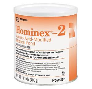 Abbott Hominex 2 Amino Acid Modified Medical Food