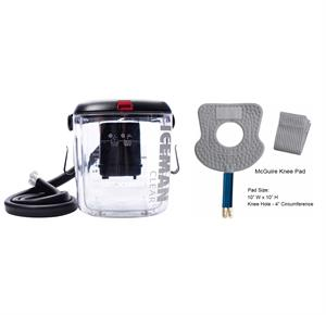 DonJoy IceMan CLEAR3 Cold Therapy Unit With Knee Pad