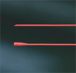 Bard Tracheal Suction Latex Red Rubber Catheter With Funnel End