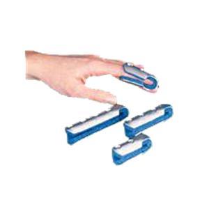 Rolyan Foam Lined Aluminum Finger Cot