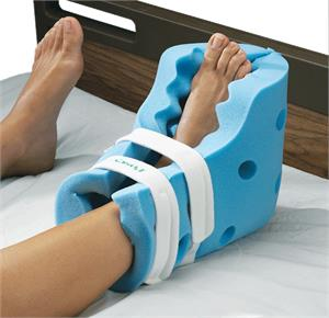 Posey Foam Heel Guards With Securement Straps