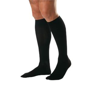 BSN Jobst for Men Closed Toe Knee High 15-20 mmHg Ribbed Compression Socks