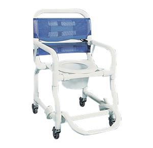 Rolling Shower Commode Chairs Products | Bathroom Safety Aids