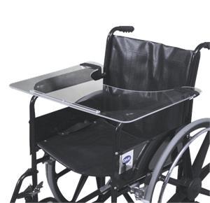 Mabis DMI Acrylic Wheelchair Tray