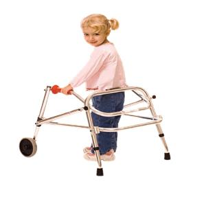 Kaye Posture Control Two Wheel Walker For Children