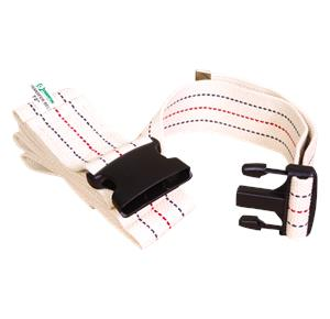 Essential Medical Woven Gait Belt With Plastic Buckle