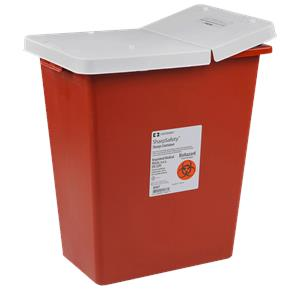 Covidien Kendall PG2 Rated Compliant Sharps Disposal Container