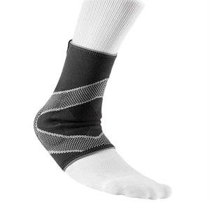 McDavid 5115 4-Way Elastic Ankle Sleeve With Gel Buttress