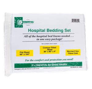 Essential Medical Deluxe Hospital Bed Set