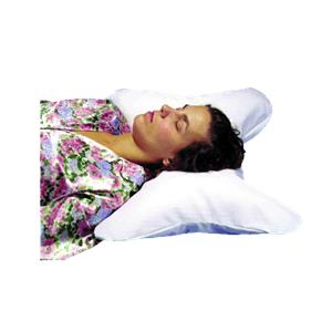 Hermell Butterfly Pillow with White Polycotton Cover