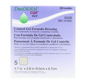 ConvaTec DuoDERM CGF Sterile Hydrocolloid Wound Dressing