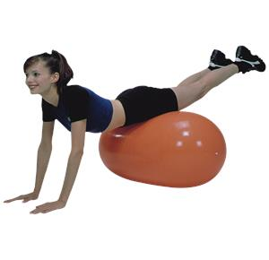 CanDo Inflatable Exercise Straight Roll