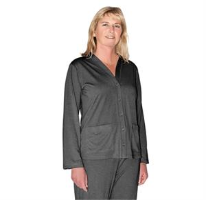 74a4b9d3ab Cool-Jams Mix And Match Moisture Wicking Button Front PJ Topper With Pockets